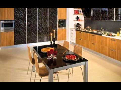 cuisine moderne 2015 youtube. Black Bedroom Furniture Sets. Home Design Ideas