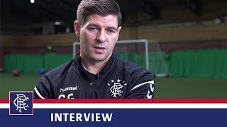 INTERVIEW   Steven Gerrard   23 Sep 2018