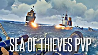 1 SHIP VS THE WORLD - Sea of Thieves 1vs4 Galleon PVP Battles