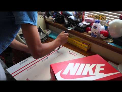How to Double Box Sneakers! Best Way to Ship Shoes! Shipping Olympic 6's!