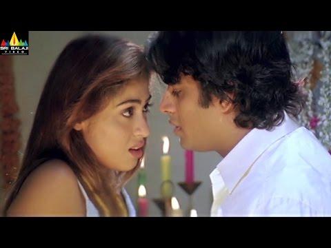 Priyasakhi Movie Madhavan and Sada First Night Scene | Telugu Movie Scenes | Sri Balaji Video