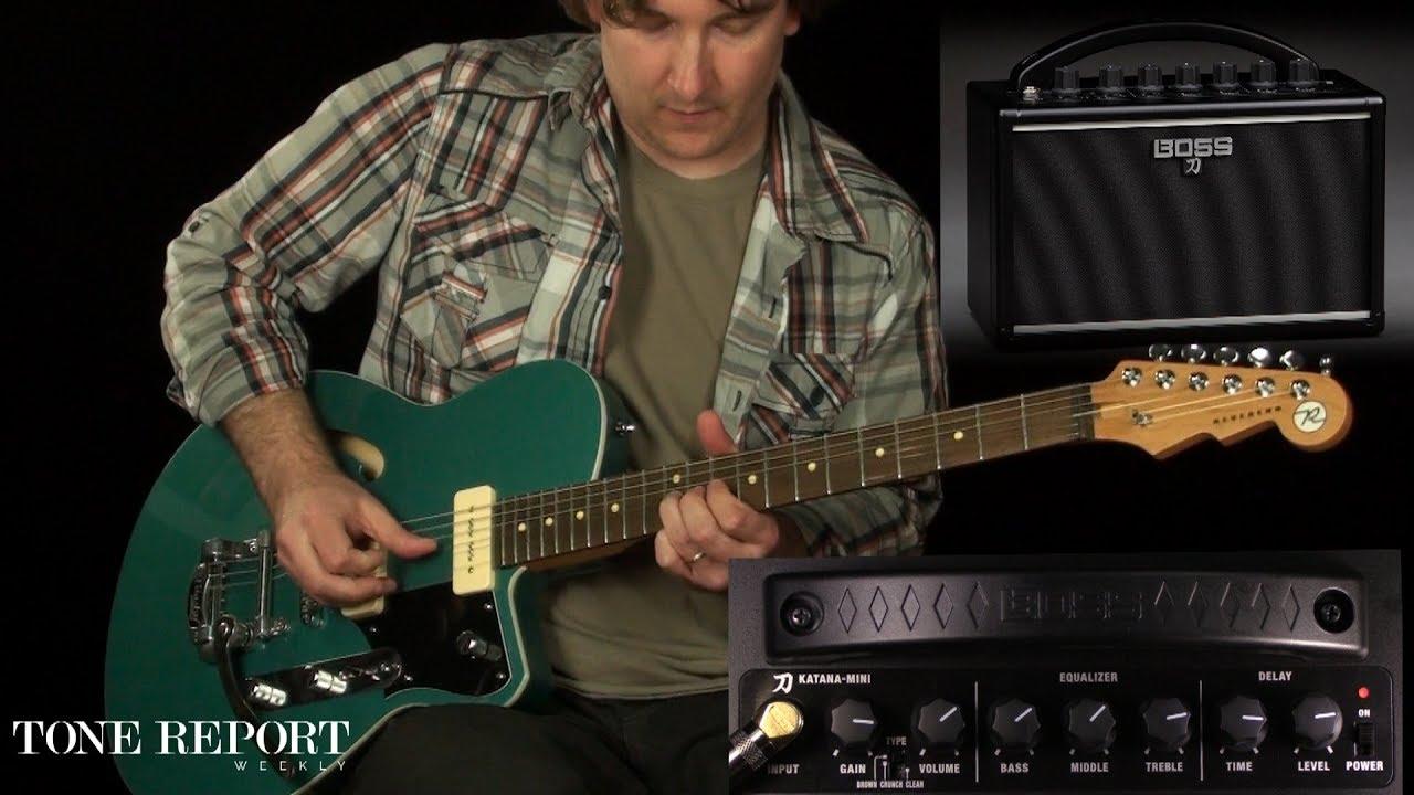Boss Katana Mini Amplifier Youtube Apmilifier Guitar Bass Circuit And Explanation