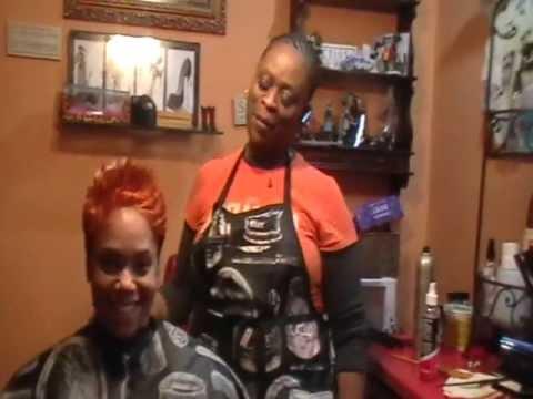 Black Hair Salon Houston  Black women hairstyles l Hair