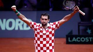 Croacia pone a Francia contra las cuerdas en la Copa Davis de tenis