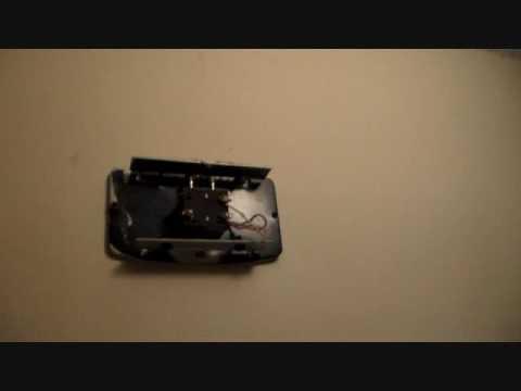 halloween vintage doorbell repair youtube. Black Bedroom Furniture Sets. Home Design Ideas