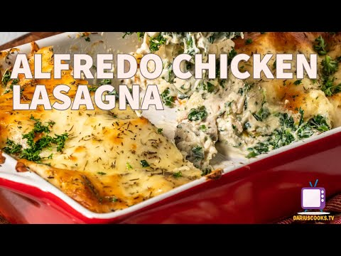 Alfredo Chicken Lasagna | Rotisserie Chicken Series!