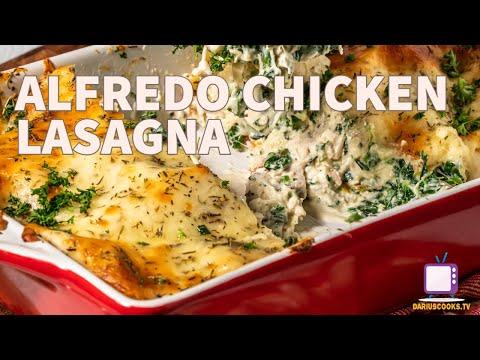 Alfredo Chicken Lasagna | Rotisserie Chicken Series!