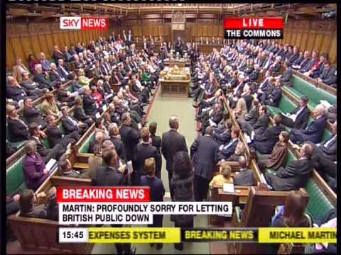 House of Commons Speaker Martin's Historic Speech p2