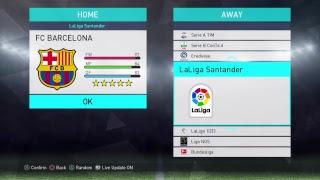 PES 2018 - Barcelona - Best Formation & Tactics