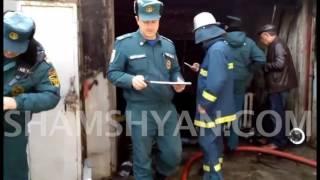 Հրդեհի դեպք Երևանում. Opel-ը ավտոտնակում ամբողջովին հրդեհվել է