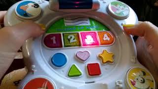 Интересные игрушки для малышей /Волшебное зеркало обзор