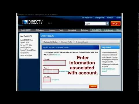 DIRECTV REBATE - How to Submit your DIRECTV REBATE - YouTube