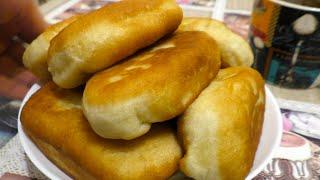 Мега Быстрые Пирожки с картошкой на Кипятке Рецепт обалденного тесто для пирожков как Пух