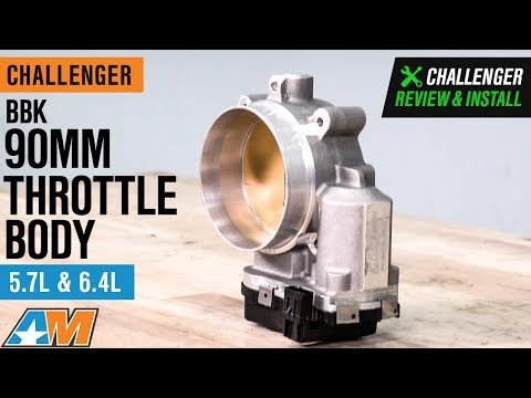 2013-2018 Challenger 5.7L & 6.4L HEMI BBK 90mm Throttle Body Review & Install