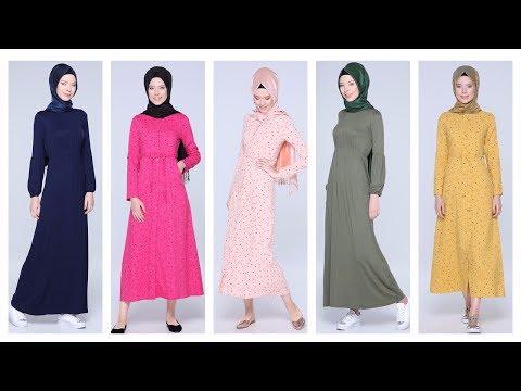 Tozlu Giyim 2017 Tesettür Elbise Modelleri 2/2