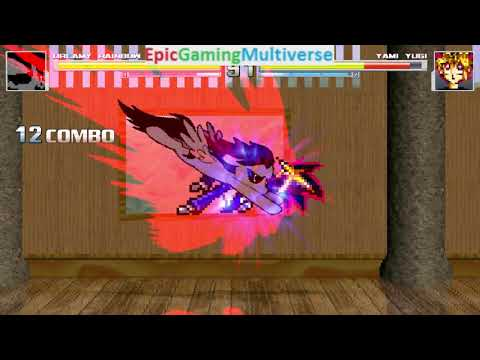 Yami Yugi VS Dreamy Rainbow On The Hardest Difficulty In A MUGEN Match / Battle / Fight