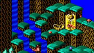 Let's Briefly Play Snake Rattle 'n Roll - Both Versions