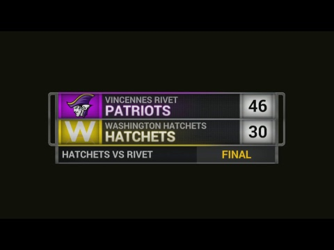 1/18/2018 Vincennes Rivet Lady Patriots vs Washington Lady Hatchets