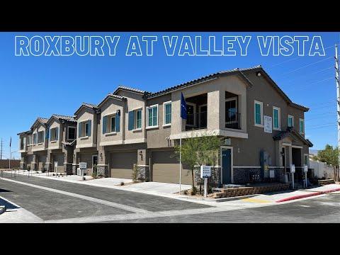 New Condos For Sale North Las Vegas | Roxbury by Lennar at Valley Vista | Brooklyn Home Tour $305k+