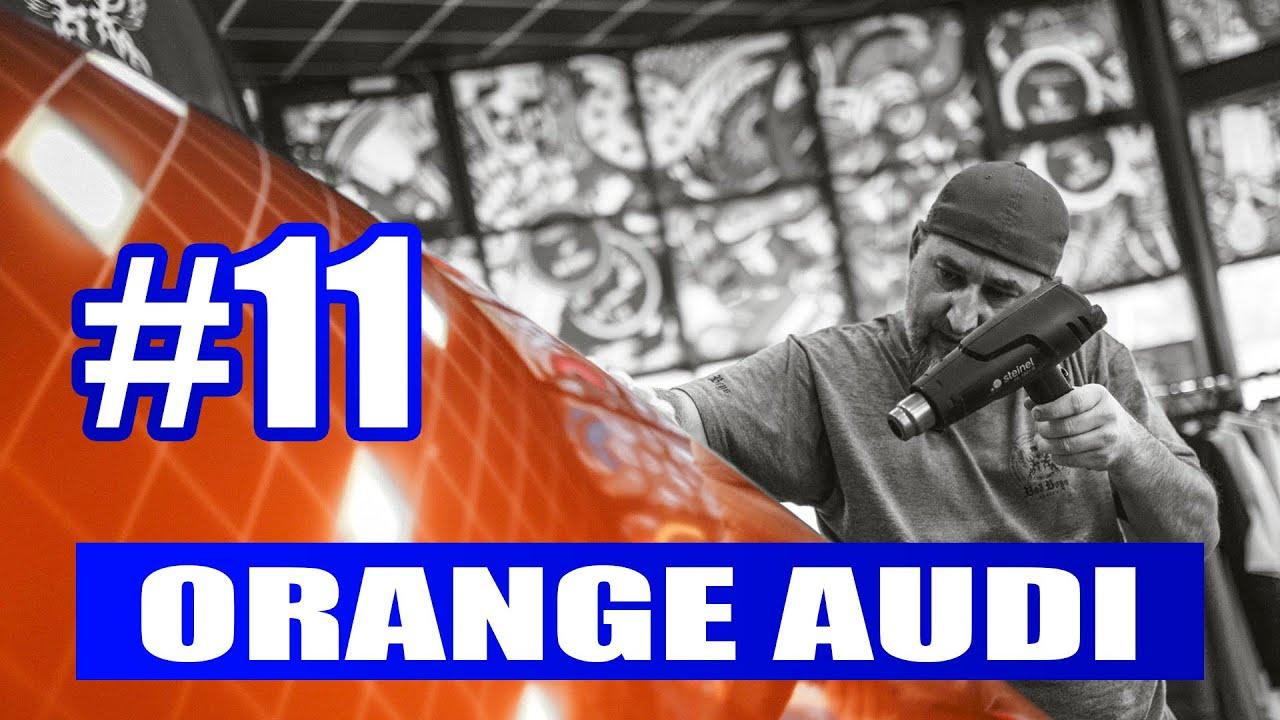 #11 Oklejanie - zmiana koloru Audi  od A do Z . Wrapping według Rafała :)