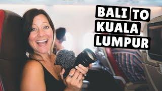 Malaysian STREET FOOD Tour! | 9 Hour Layover in Kuala Lumpur