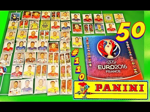 PANINI UEFA FRANCE EURO 2016 50 new Sticker PANINI Frankreich OFFICIAL video Lucky Bag ALBUM EM #110
