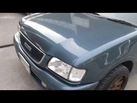 รถกระบะมือสอง รถราคาถูก ISUZU (อีซูซุ ดราก้อนอาย) Dragon Eye สีน้ำเงิน ปี 1997 เกียร์กระปุก#UC73