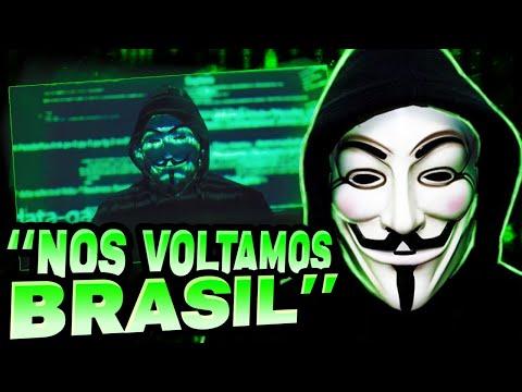 ANONYMOUS MANDA VIDEO PRO BRASIL... (2021)