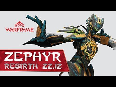 Warframe: Zephyr - Turbulence - 3 Forma Build - 22.12