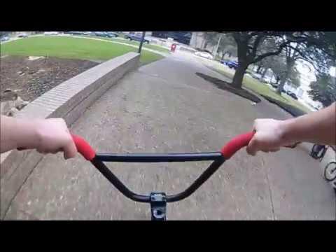 POV BMX Biking in Houston..  **Fresh Cantaloupes Included.   Houston, We have BMX.