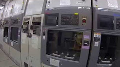 Wafer fab for sale in Nishiwaki - Video tour part 19 - Wet etch and diffusion