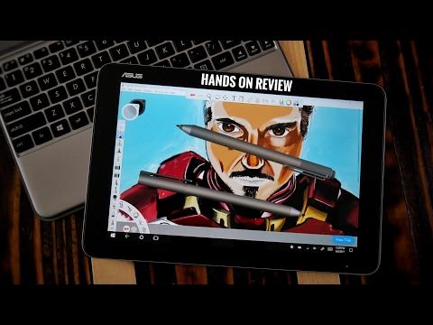 Asus Transformer Mini T102HA Best Budget Drawing tablet ft Microsoft 4 pen review