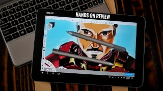 Asus Transformer Mini T102HA Best Budget Drawing tablet ft Microsoft 4 pen review