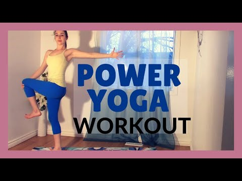 Power Yoga Flow - Total Body Workout 30 min Class
