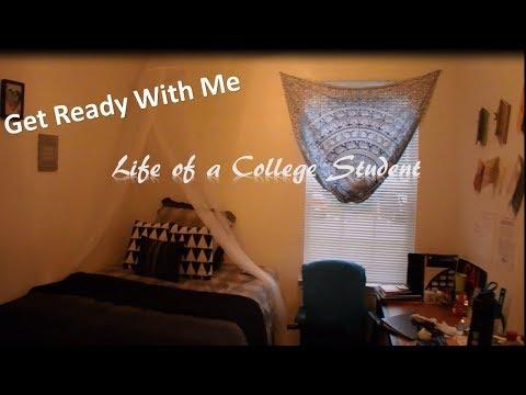 GRWM Life of A College Student   California University of Pennsylvania