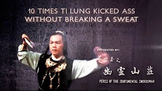 Video 10 Times Ti Lung Kicked Ass Without Breaking A Sweat download MP3, 3GP, MP4, WEBM, AVI, FLV November 2017