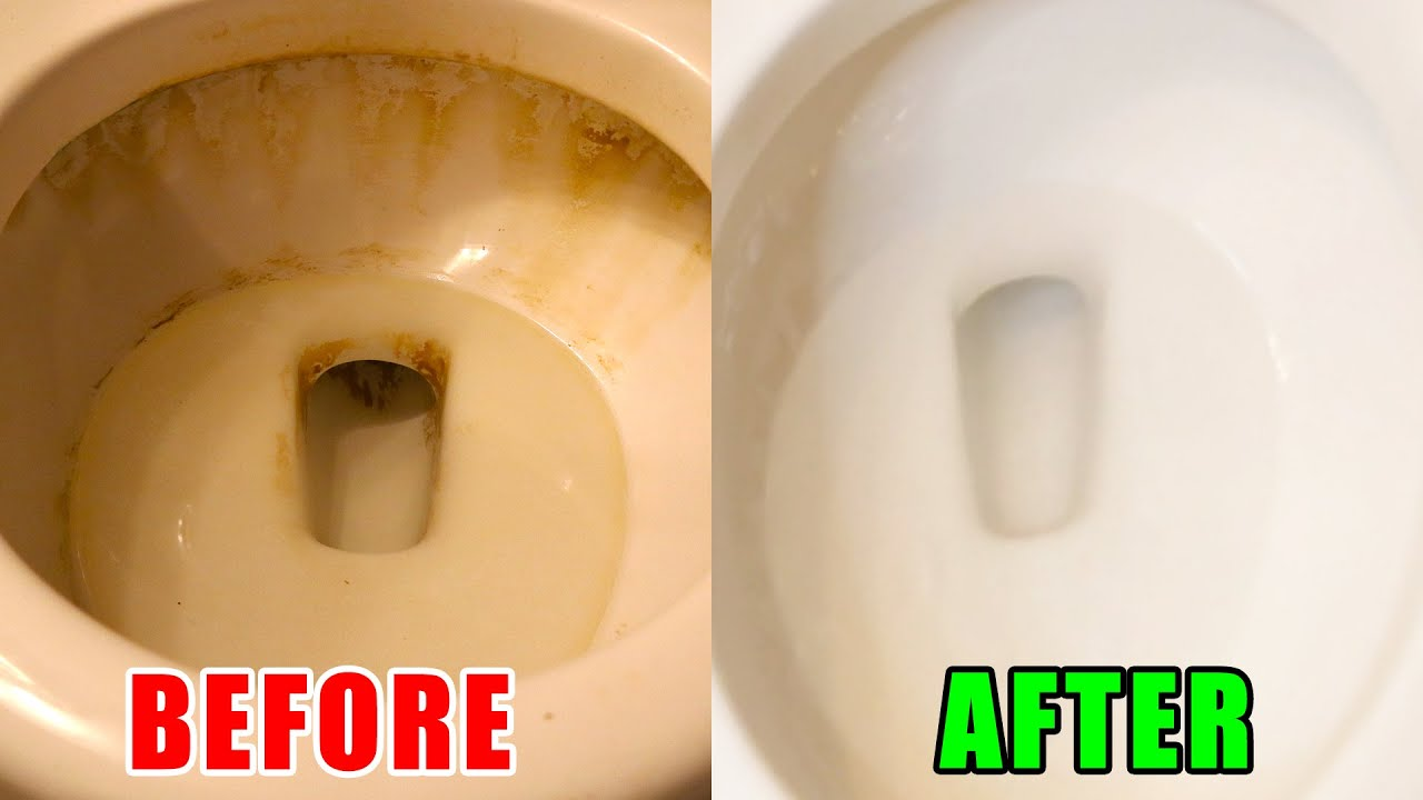 How to Clean a Very Dirty Toilet Bowl
