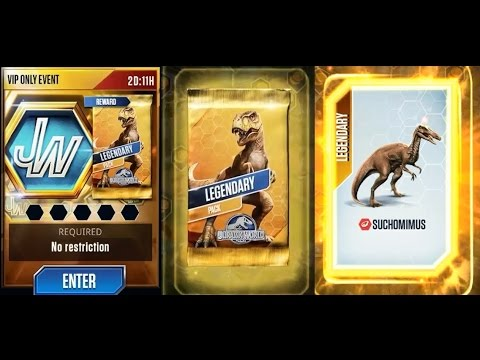 "Jurassic World: The Game - ""VIP Only Event"" 4 - Full Battle - TANYCOLAGREUS And Indominus Rex"