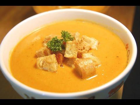 Готовим суп из тыквы