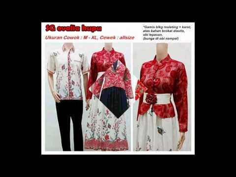 Grosir Baju Batik Couple Model Gamis Terbaru 2015 Batik