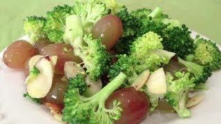 Broccoli, Grape & Almond Salad : Broccoli Recipes