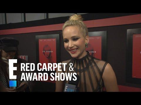 Jennifer Lawrence Gushes Over Making