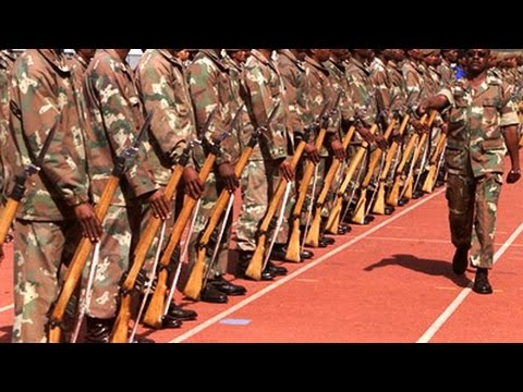 Armed Forces Day celebrations (Moses Mabhida Stadium), 21 Fe