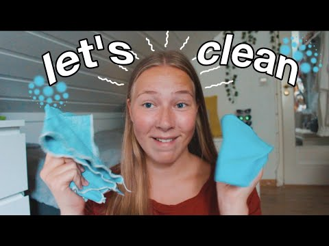 DEEP CLEANING MY ROOM ✩ clean + organize with me