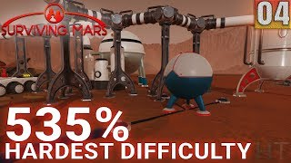 Surviving Mars 535% HARDEST DIFFICULTY - Part 04 - A Sterling Start - Gameplay (1440p)