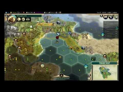 Civilization V BNW - Inca [Emperor] (Livestream)