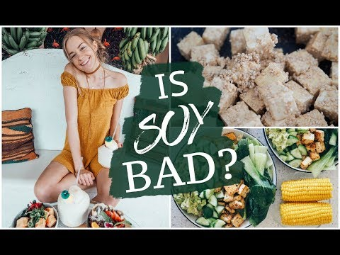 WHAT I ATE TODAY | IS SOY BAD FOR YOU? Will you get man boobs?