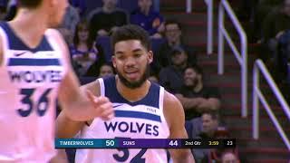 Minnesota Timberwolves vs Phoenix Suns : December 15, 2018