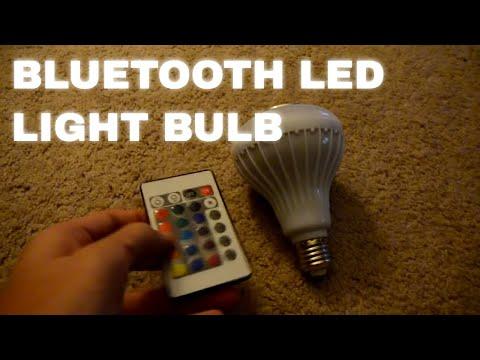 Bluetooth LED Music Multi Color Light Bulb Speaker