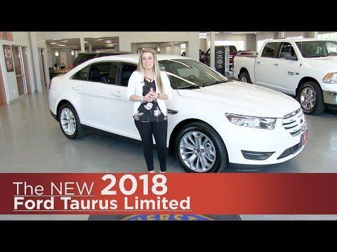 New 2018 Ford Taurus Limited - Minneapolis, Brooklyn Park, Elk River, St Paul, St Cloud MN | Review